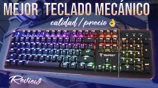 rEVIEW TEMPEST K10 / EL MEJOR TECLADO BARATO , MECNICO Y GAMER CALIDAD / PRECIO ESPAOL