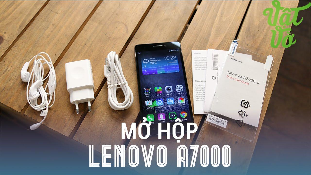 Vật Vờ - Mở hộp & đánh giá nhanh Lenovo A7000: Dolby Atmos đầu tiên trên smartphone