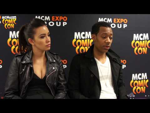 The Walking Dead: Christian Serratos and Tyler James Williams MCM Birmingham Comic Con Interview