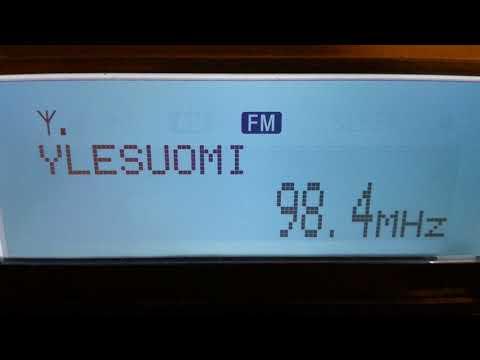[tropo] 98,4 - YLE Radio Suomi, Haapavesi/ Haapovuori, Finland, 789 km, RDS ID, 29th September, 2017