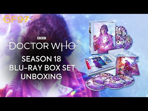 Season 18 Blu-Ray Box Set Unboxing | The Collection | Doctor Who