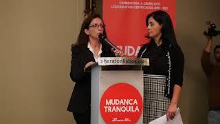 Mandatária Maria José Vidal | Lista D -  Ordem dos Contabilistas Certificados
