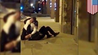 Полицейский застрелил новобрачного пожарного