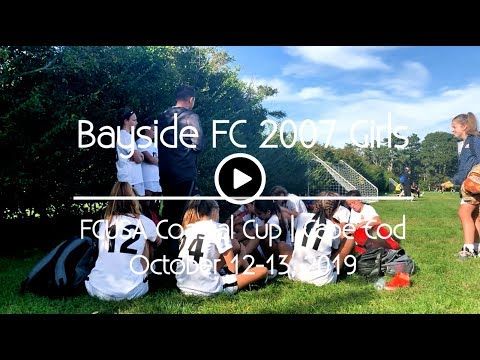 Bayside FC 2007 Girls At FCUSA Coastal Cup