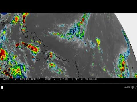 NASA Releases Time-Lapse Satellite of Irma
