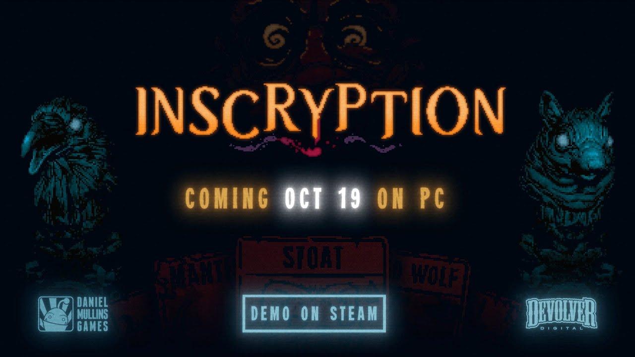 Inscryption - Release Date Trailer - Gematsu