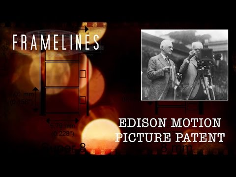 SHORT TAKE - the Edison Patent on Motion Pictures