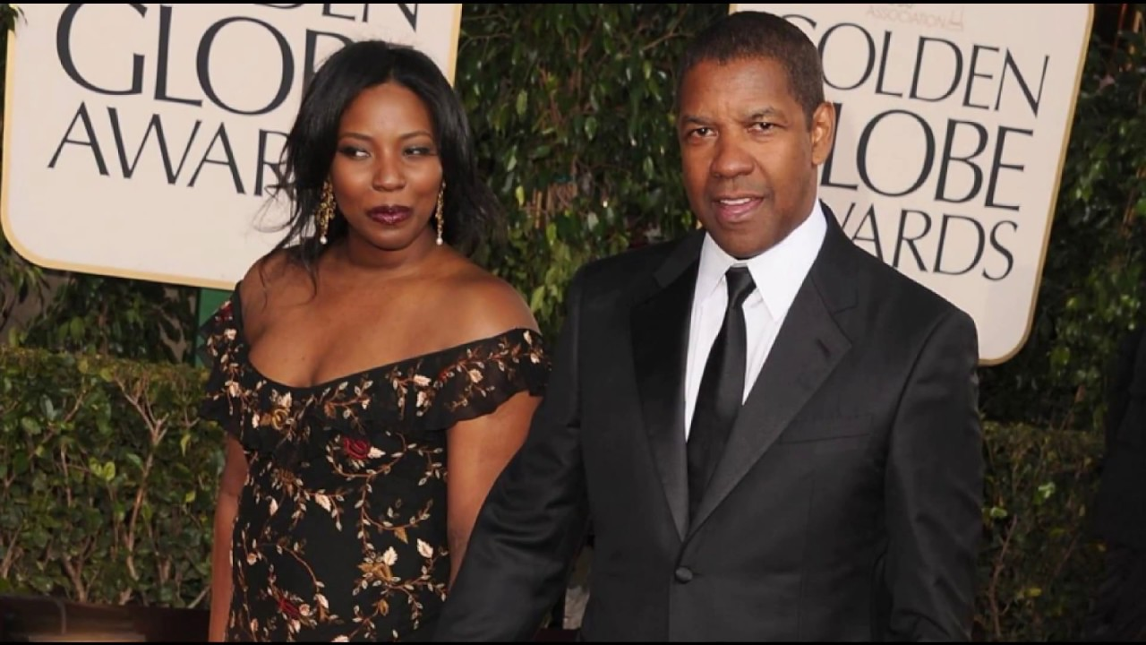 Denzel Washington with his wife Pauletta Washington
