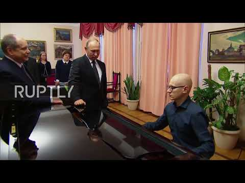 Russia: Putin discusses initiatives for disabled people at Russian State Specialised Academy