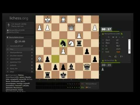 Bullet Chess #129: [Tournament] lichess Bullet Arena