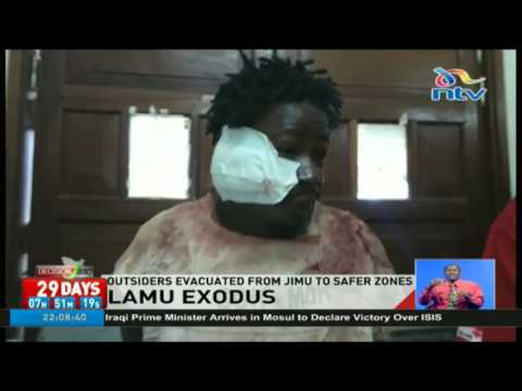 Outsiders evacuated from Jimu to safer zones in Lamu