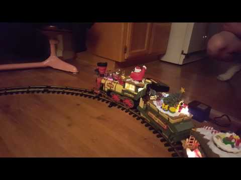 Holiday Express G Scale Christmas Train