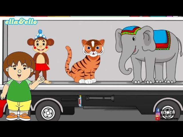 S2-E40 : Mengenal Binatang Sirkus   Puri Animation