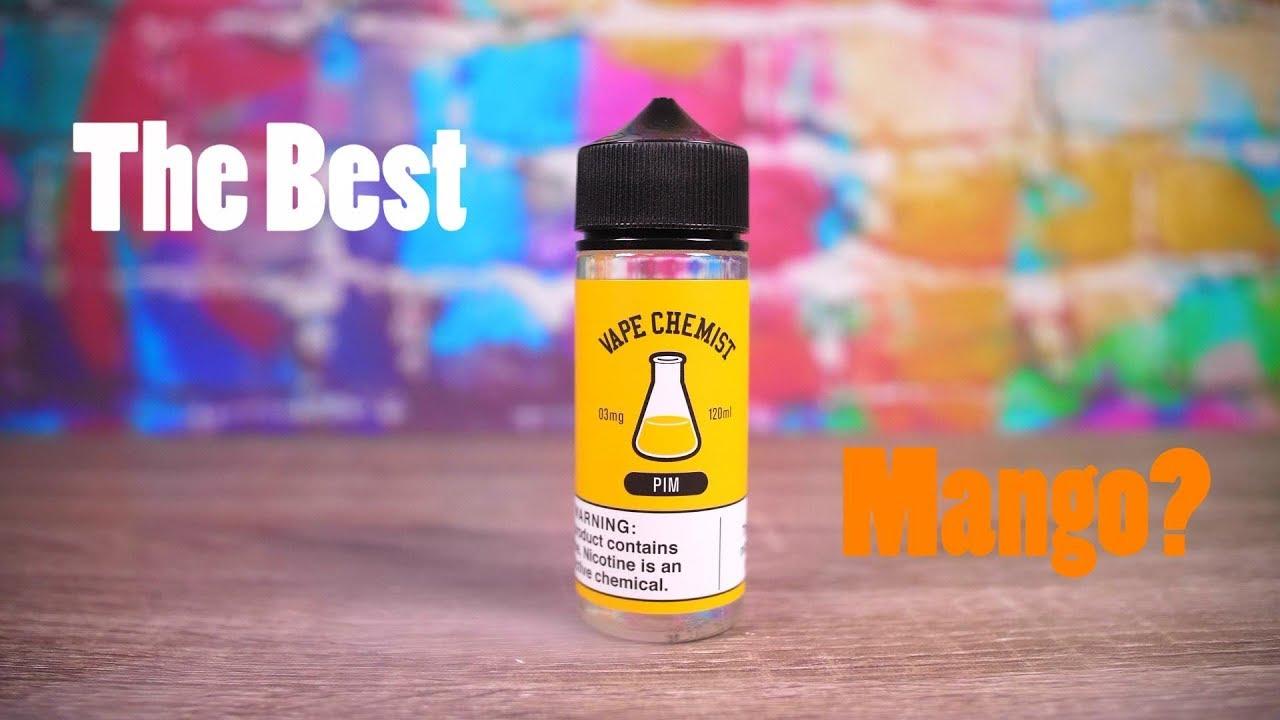 The BEST Mango E-Liquid? Vape Chemist Philippine Mango Review!  VapingwithTwisted420