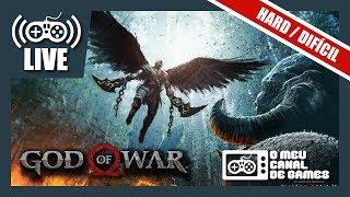 [Live] God of War (PS4 Pro): DIFICULDADE HARD - Até Zerar AO VIVO #4