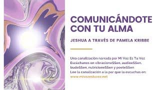 COMUNICÁNDOTE CON TU ALMA - Jeshua a través de Pamela Kribbe thumbnail