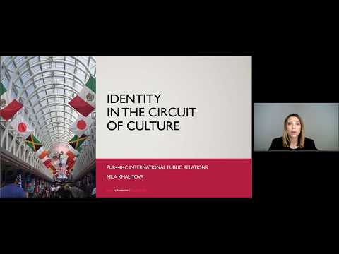 Lecture 6. Circuit of Culture: Identity and Global PR