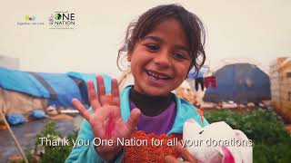 One Nation In Syria Update : Changing Lives