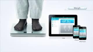 iHealth HS3 bluetooth mérleg Apple iPhone / iPad + Android készülékekhez