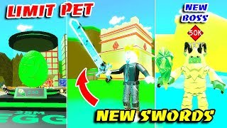 NEW SUBZERO AREA, LIMIT EGG, NEW WEAPONS & GOT LEGENDARY PET In SLAYING SIMULATOR!! (Roblox)