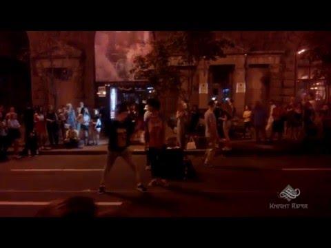 Уличные танцы, Киев, Вечерний Крещатик часть 2 - Street Dance, Kiev, Khreshchatyk Evening part 2