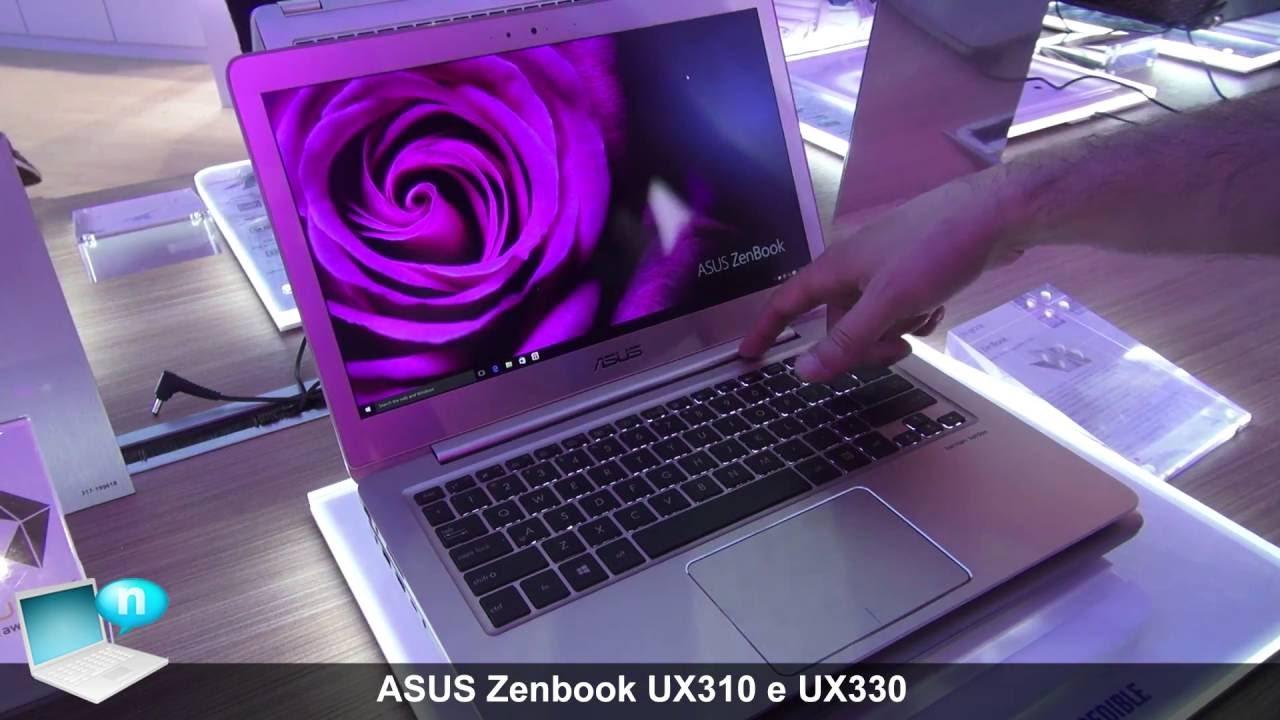 ASUS Zenbook UX330 E ASUS Zenbook UX310 UX310UQ