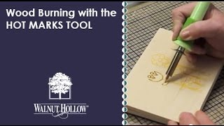 Walnut Hollow® | Wood Burning With The Hotmarks Tool