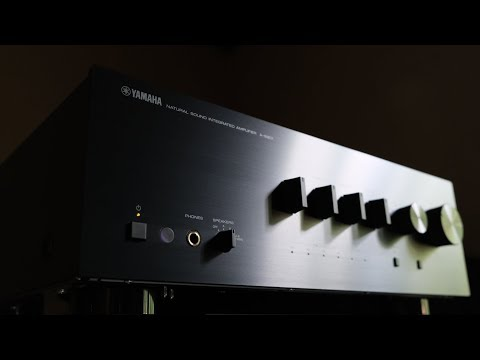 Review!  The Yamaha A-S801 Integrated Amplifier!