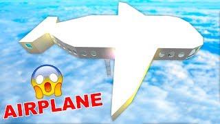 J'ai construit un manoir flottant AIRPLANE à Bloxburg! (Roblox)