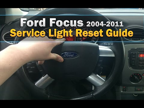 Ford Focus Service Light Reset 2004-2016