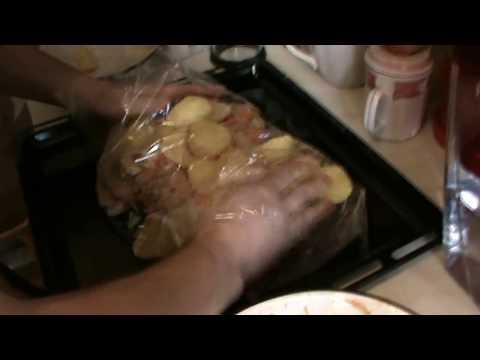 как приготовить вкусно баранину с картошкой в духовке