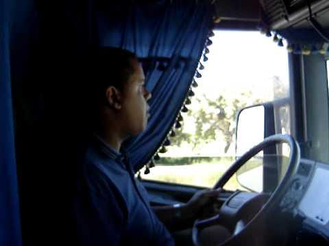 Cruzando macha no Scania 164 - 480 V8 Canhão