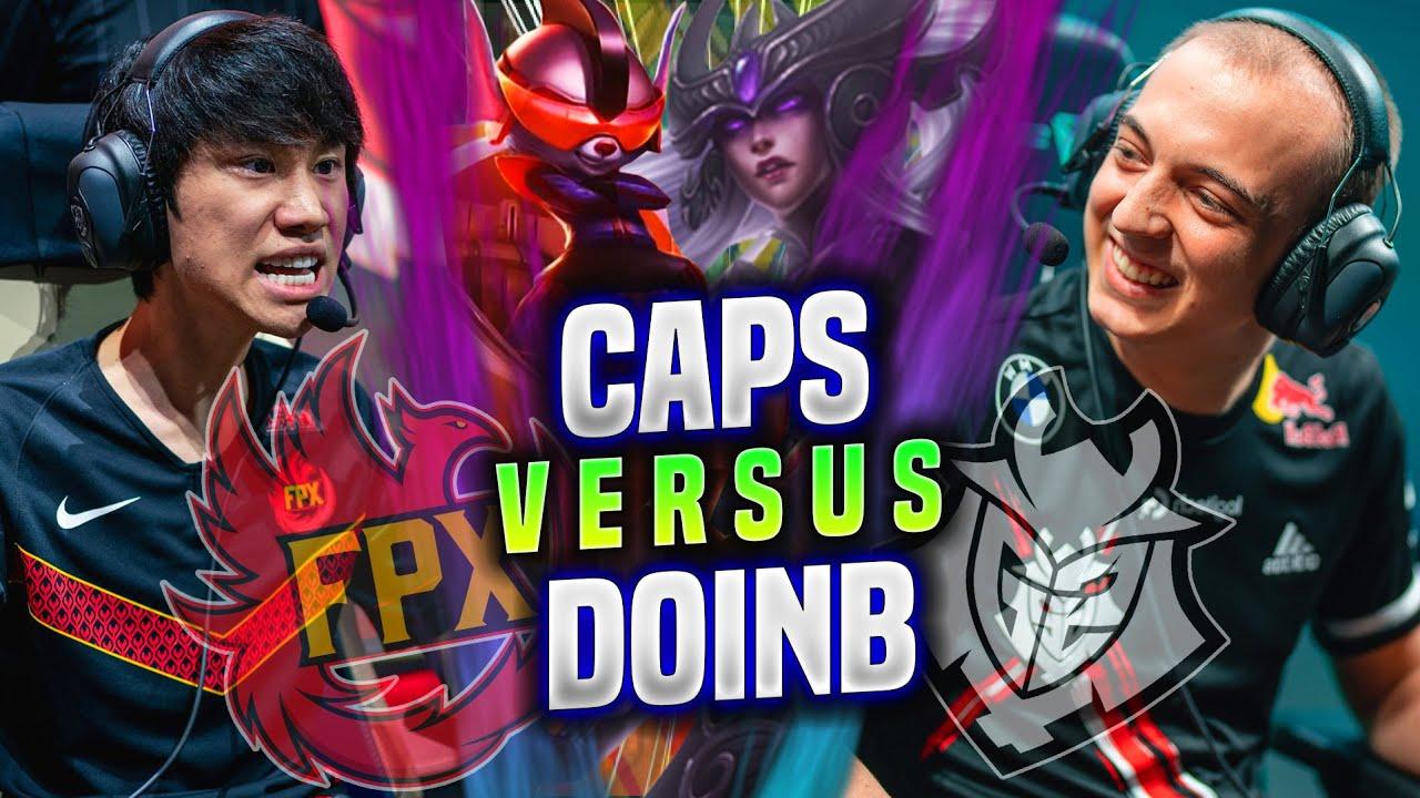CAPS vs DOINB - G2 Caps Syndra vs FPX DoinB Rumble in EUW SOLOQ!   Worlds Bootcamp 2021