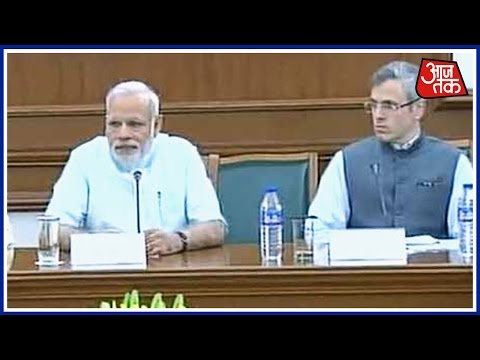 Opposition Party Leader Omar Abdullah Meets PM Modi