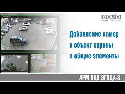 Видеоподсистема  FTP камеры