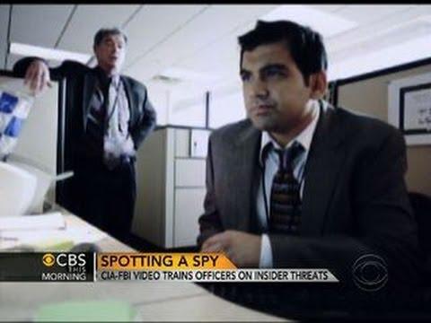 CIA-FBI video trains officers on insider threats