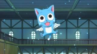 Fairy Tail - Happy Theme (EleKtrO 24 RmX)
