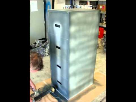 Electrostatic Painting, Electrostatic Spraying Demo