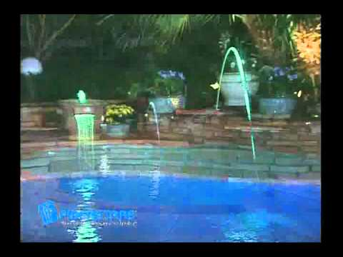 FIBERSTARS Lighting Ex≤s for Pools u0026 Spas Bring Magic to Water & FIBERSTARS Lighting Examples for Pools u0026 Spas Bring Magic to Water ...