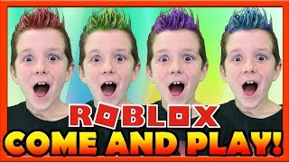 ROBLOX LIVE! 🔴 :: Come and play on this live stream! Jail Break, MM2, Assassin, Pokemon, and more!