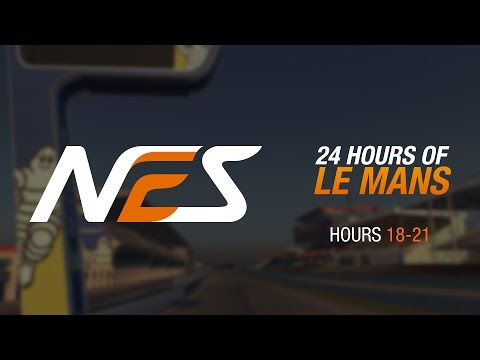 6: Le Mans 24 Hours // NEO Endurance Series // Hours 18-21