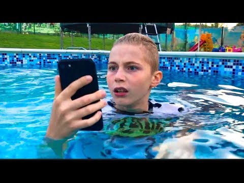 Супер находка в бассейне!!!Cool find in the pool!