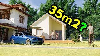 Dom 35m2  | Dom z antresolą | Dom bez pozwolenia | Dom na zgłoszenie | 35m2