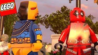 DEADPOOL E DEATHSTROKE JUNTOS EM LEGO VINGADORES !!! (mods)
