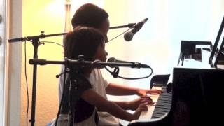 Just Give Me a Reason (P!nk ft. Nate Ruess) cover by Olivia and Nio Ajero