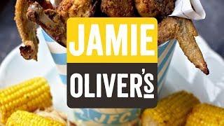 Низкокалорийная жареная курочка от Джейми Оливера!