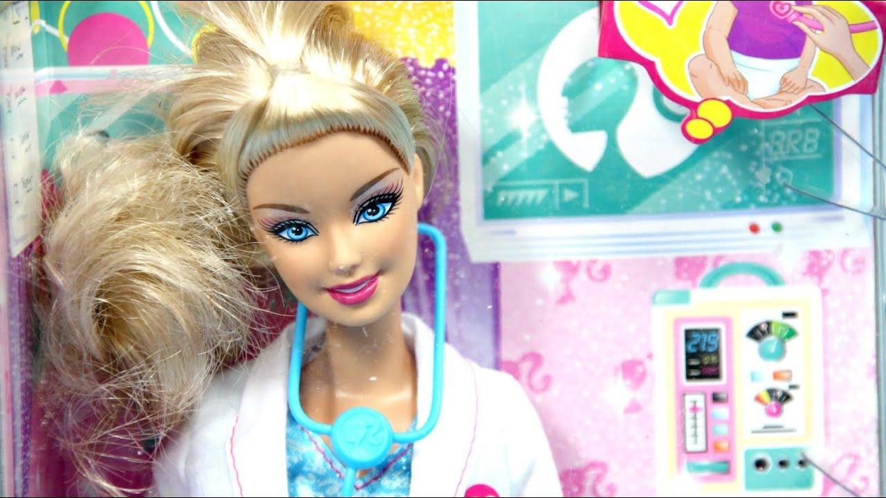 Baby Doctor Lekarka Barbie I Can Be Bądź Kim Chcesz