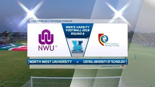 Varsity Football | NWU v CUT | Highlights
