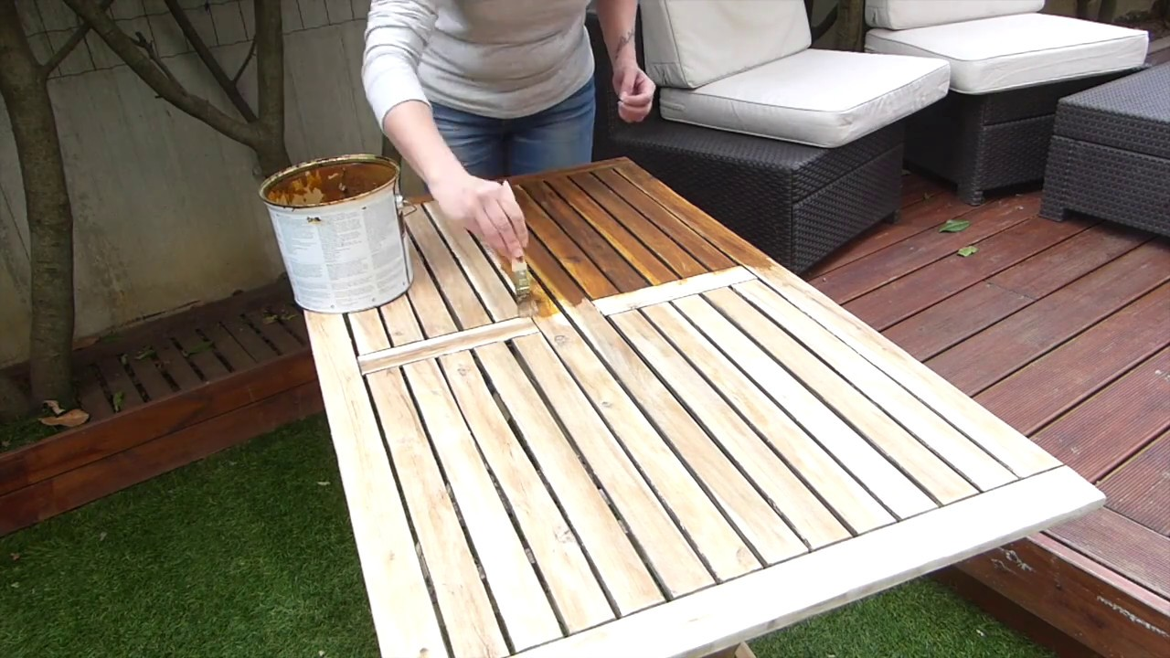 Tuto Diyco By Jane : Rénover son salon de jardin - YouTube