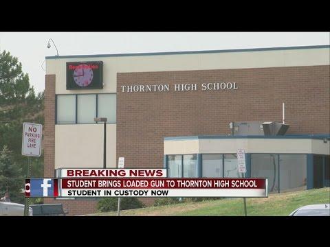 Thornton High School student brings loaded gun to school